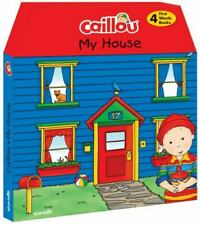 Caillou, My House: Includes 4 chunky board books