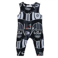 Newborn Toddler Baby Boys Costume Star Wars Romper Jumpsuit Bodysuit Outfits Set