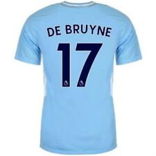 Nike Manchester City De Bruyne Clubs Football Home Tricot Jersey Men's 2017 2018