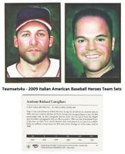 2009 Italian American Baseball Heroes Set ** Pick Your Team **