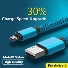 1M 2M 3M Micro USB Fast Charging Data Sync Cable cord For Samsung HTC Android LG