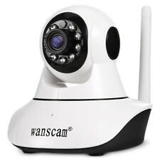 Wanscam HW-0041-1 1.0MP 720P WiFi IP Camera Night Vision/Pan Tilt White