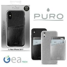 PURO SHINE POCKET Cover for iPhone Suitable Case TPU Card Anti-Shock Glitter