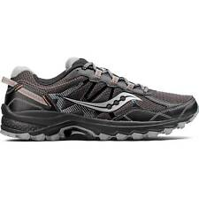 NEW Mens SAUCONY Black Orange Mesh Synthetic EXCURSION TR11 TRAIL Running Shoes