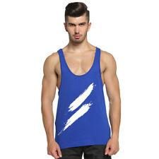 Men Gym Stringer Summer Fitness Cotton Casual Muscle Workout Tank Top Vest Tee