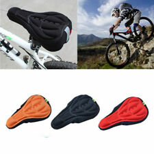 3D Pad Soft Cushion Pad Cover Seat Cycling Bicycle Bike Saddle Silicone Gel