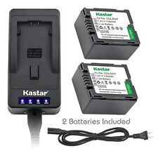 CGA-DU07 Battery or Super Fast Charger for Panasonic SDR-H18 H28 H200 H250 H280