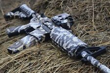 ES CAMO Snake Wrap Vinyl Skin for AR-15/M4. 12 pat. for Hunting or Airsoft Gun