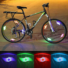 Safety  LED Light Lamp Bike Bicycle Cycling Wheel Spoke Tire Tyre Red Blue