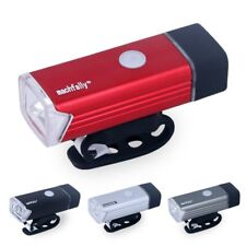 High Power LED Head Lamp Bicycle Front Light USB Rechargeable Handlebar Lighting