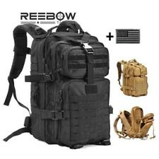 Military Tactical Assault Waterproof Pack Backpack Army Molle Bug Out Bag Backpa