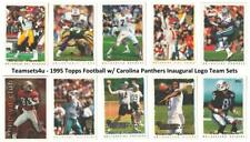 1995 Topps w/ Carolina Panthers Inaugural Logo Football Set ** Pick Your Team **