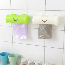 FX- Kitchen Wall Self Sticky Smile Face Garbage Bag Receiving Box Container Util