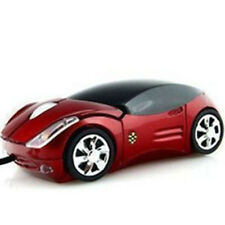 New Car Shape USB 2.0 3D Optical Wired Mouse Mice For Mac Computer PC Laptop