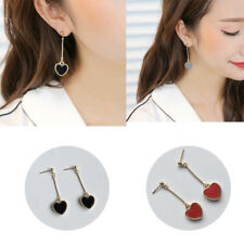 Long Section Earring Fashion Long Dangle Chain   Heart Love Retro Women Jewelry