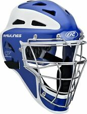 Rawlings Pro Preferred CoolFlo Youth baseball catchers gear helmet mask Royal