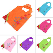 1 pc Strawberry Foldable Shopping Bag Tote Reusable Eco Friendly Grocery Bag FK
