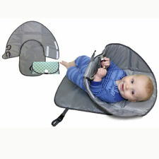 Clean Hands Changing Pad Portable Baby 3in1 Cover Mat Folding Diaper Bag Kit NEW