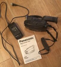 Panasonic PV-A207 Palmcorder 14x Optical Zoom VHS-C Video Camcorder ~ LOOK 👀