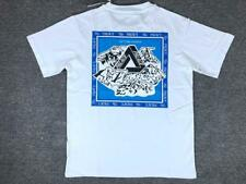 Unisex Snow Mountain Graphic TEE PALACE Round Neck Cotton T-Shirts Basic TEE Top