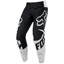 Genuine Fox Racing Youth 180 Black/White Race Pants Motocross MX Kit Off Road