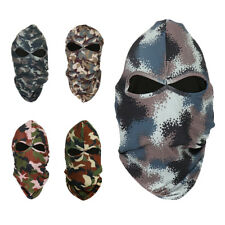 Camo Motorcycles Thermal Balaclava Neck Winter Ski Full Face Mask Cap Cover