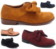 WOMENS LADIES CASUAL LOW HEEL CASUAL SLIP ON LOAFERS PUMPS SHOES SIZE 3-8