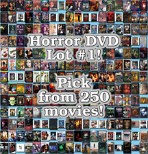 Horror DVD Lot #1: DISC ONLY - Pick Items to Bundle and Save!