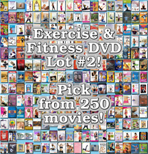 Exercise & Fitness DVD Lot #2: DISC ONLY - Pick Items to Bundle and Save!