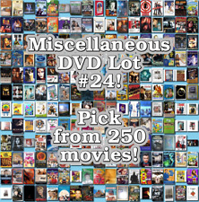 Miscellaneous DVD Lot #24: DISC ONLY - Pick Items to Bundle and Save!