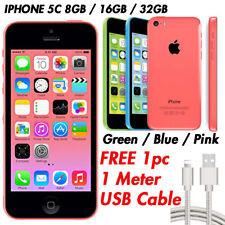 Apple iPhone 5C 8GB 16GB 32GB Excellent Condition Sim Unlocked Blue Pink Green