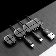 Usb Cable Organizer Cord Management For Earphone Headphone Silicone Winder Paste
