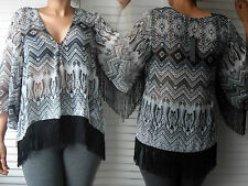NEW WOMAN'S LADIES LIGHTWEIGHT SMART CASUAL SUMMER TOP BLOUSE WITH PLUS SIZE