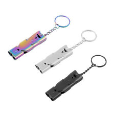 MagiDeal Emergency Survival Whistle Outdoor Camping Hiking Tool & Keychain