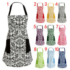 MagiDeal Waterproof Apron Chefs Butcher Kitchen Cooking Craft Pocket Aprons