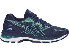 Asics Gel-Nimbus 20 Blue Navy Women Running Shoes Regular Width T850N-4949