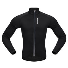 MagiDeal Cycling Jacket Jersey Long Sleeve Cycling Jacket Sportswear Black