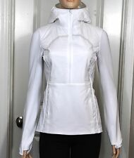 NWT Lululemon Run For Cold Pullover White Sz 6 Small 1/2 Zip Jacket NEW
