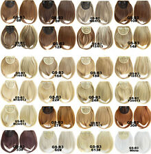 Fashion Straight Hair Fringe Bang Hairpiece Clip-In Front Hair Extension