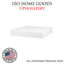 4 Pack IZO Home Goods Upholstery Foam Cushion Replacement Per Sheet  All Sizes