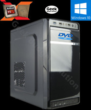 🔥 AMD FX-4300 4.0GHz 4-Core Radeon HD Office PC Desktop Computer DDR3 HDD