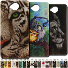 For Apple iPhone Microsoft Nokia Case Back Rubber Silicone TPU Soft Cover Skin