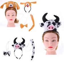 MagiDeal 3/set Kids Animal Costume Accessories School Zoo Party Fancy Dress