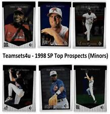 1998 SP Top Prospects (Minors) Baseball Set ** Pick Your Team **
