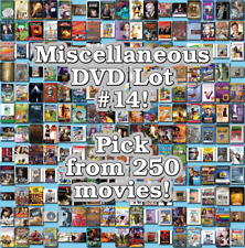 Miscellaneous DVD Lot #14: DISC ONLY - Pick Items to Bundle and Save!