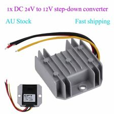 Waterproof DC/DC Voltage Converter Regulator 24V Step Down to 12V 5A Adaptor FE