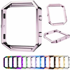 Stainless Steel Metal Frame Holder Shell Housing Case for Fitbit Blaze Watch