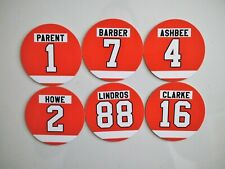 Philadelphia Flyers Magnets - Select players - Retired Jersey Numbers