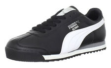PUMA Roma Basic Black, White, Silver Mens Sneakers Tennis Shoes