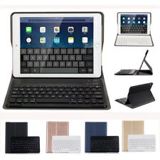 Smart Wireless Ultra Thin Bluetooth Keyboard With Flip Stand Case Cover For iPad